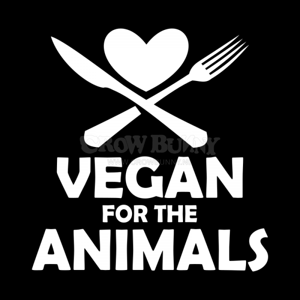 Vegan for the animals draagtas