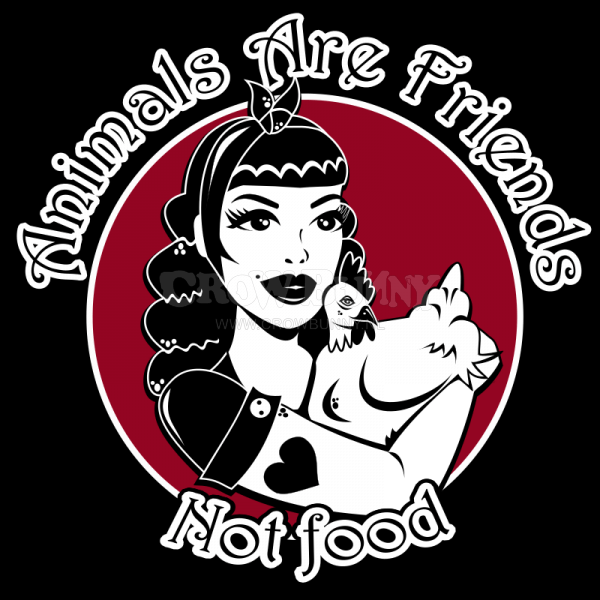 Animals Are Friends - Not Food